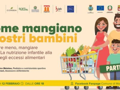Come mangiano i nostri bambini. Un evento online con Domenico Meleleo